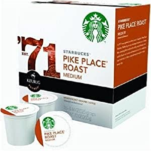 Starbucks Pike Place Roast, K-Cup Portion Pack for Keurig K-Cup Brewers, 16-Count
