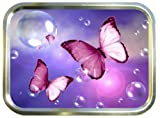 BUTTERFLY BUBBLES 2oz GOLD TOBACCO TIN,BACCY TIN,PILL TIN,FISHING TIN,SEWING TIN