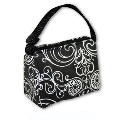 BooginHead Black Flourish PaciPouch Pacifier Bag Holder Paci Pouch - 1