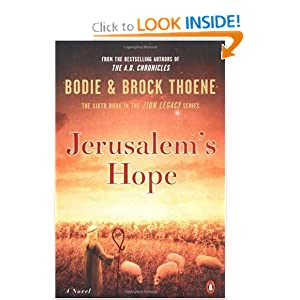 """Jerusalem's Hope"" by Brock & Bodie Thoene :Book Review"