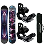 AIRTRACKS SNOWBOARD SET - BOARD COSMO...