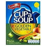 Batchelors Cup a Soup Golden Vegetable 4 Sachets Soup 82g Case of 9