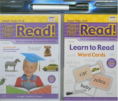 Your Baby Can Read Review Blister Pack: Early Language Development System