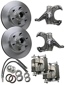 Amazon.com: McGaughys Chevy C10 1963-70 Drop Spindles 6 Lug Disc Brake