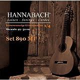 Hannabach Serie 890/14 - Cuerdas para guitarra clásica infantil (49-52 cm)