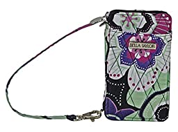 Petal Me Pretty Quilted Cotton Wristlet Wallet