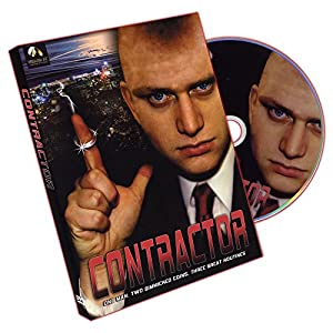 Murphy's Magic Contractor (DVD and Coins) by Russell Leeds DVD