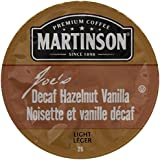 Martinson Coffee, Hazelnut Vanilla Decaf, 24 Single Serve RealCups