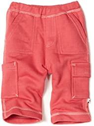 Babysoy Baby-Girls Newborn  Soft Cargo Pants, Blossom, 12-18