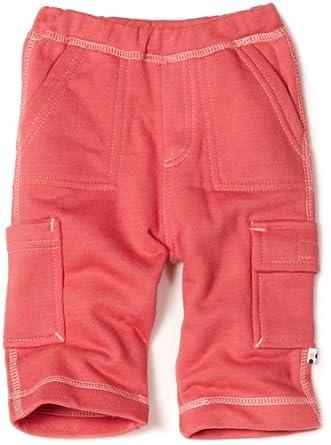 Babysoy Baby-Girls Newborn Soft Cargo Pants, Blossom, 18-24 Months
