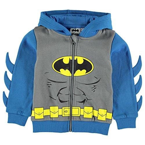 Character bambini ragazzo felpa con cappuccio giacca con cappuccio felpa con cappuccio Batman 5-6 Anni