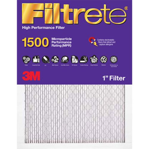 Filtrete 2002DC-6 Ultra Allergen Reduction Filters, 1500 MPR, 20 x 20 x 1, 6-Pack