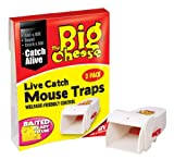 The Big Cheese - Live Catch Mouse Trap x 2