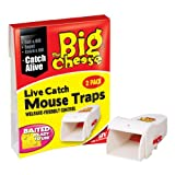 The Big Cheese - Live Catch Mouse Trap x 2by Toolbank