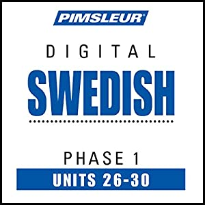 Swedish Phase 1, Unit 26-30 Audiobook
