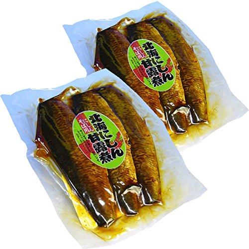 北海にしん甘露煮 にしんそば用(3枚入)×2袋セット【クロネコDM便/送料込】