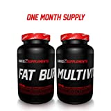 Six Pack Stack - Pills for rock hard abs 1 Month Supply by SHREDZ