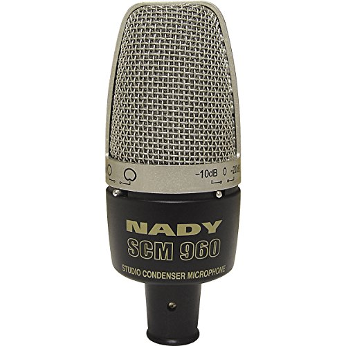 Nady Scm-960 Large Diaphragm Microphone With Pattern Selection