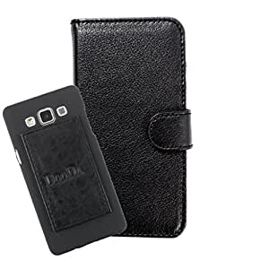 DooDa PU Leather Wallet Flip Case Cover With Card & ID Slots For iberry Auxus Aura A1 - Back Cover Not Included Peel And Paste