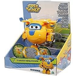 Giochi Preziosi - Donnie, Aereo Robot Personaggio Trasformabile Articolato, Alto 12 Cm