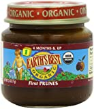 Earth's Best Organic Baby Food, First Prunes, 2.5 Ounce (Pack of 12)