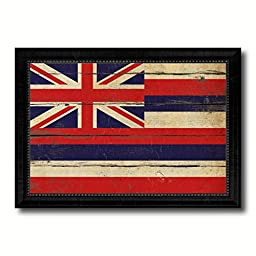 Hawaii State Vintage Flag Collection Western Interior Design Souvenir Gift Ideas Wall Art Home Decor Office Decoration - 23\