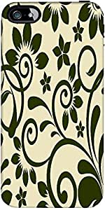 Snoogg Seamless Floral Pattern Abstract Background Designer Case Cover For Ap...