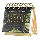 DaySpring Charles Stanley's Lift up My Soul, DayBrightener Perpetual Flip Calendar, 366 Days of Inspiration (77908)