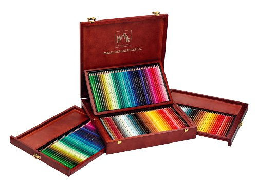 Wooden Box of Color Pencils