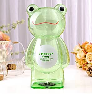 Amazon Com Piggy Bank Cartoon Plastic Transparent Piggy