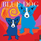 Blue Dog 2014 Wall Calendar (0789326299) by Rodrigue, George