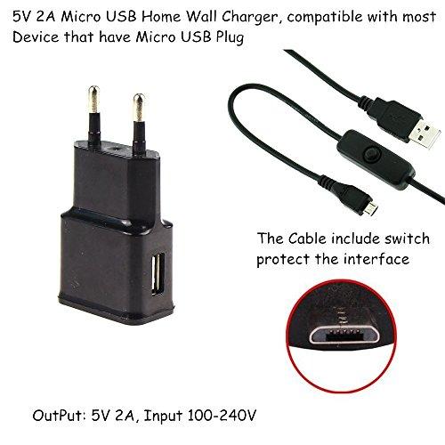 Raspberry-Pi-2-Netzteil-5-V2-A-Micro-USB-Kabel-mit-AnAus-Schalter-Einfache-StartNeustart