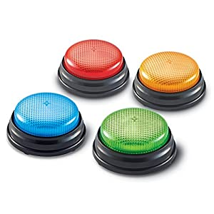 Learning Resources Lights and Sounds Buzzers