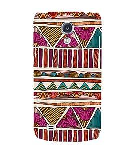 EPICCASE sketchy flower Mobile Back Case Cover For Samsung Galaxy S4 Mini (Designer Case)
