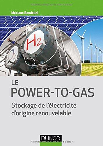 Le Power-to-Gas - Stockage de l'électricité d'origine renouvelable