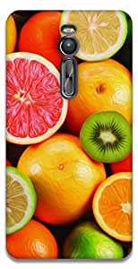 The Racoon Lean Fruit Salad hard plastic printed back case / cover for Asus Zenfone 2 ZE551ML
