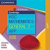 img - for Cambridge HSC Mathematics General 2 2ed App DPS App book / textbook / text book