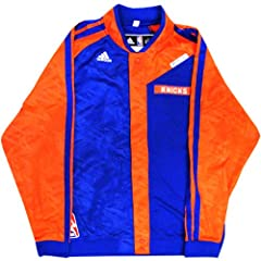 Carmelo Anthony Jacket - NY Knicks 2013-2014 Season Team Issued #7 Blue and Orange... by Steiner Sports