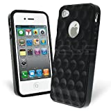 Celicious Black Bubble TPU Geli Case for Apple iPhone 4S / iPhone 4 Apple iPhone 4S Case Cover