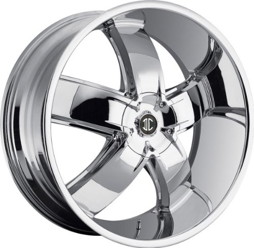 2CRAVE - no.18 - 22 Inch Rim x 9.5 - (5x115/5x5) Offset (15) Wheel Finish - Chrome no hurting rim tyre wrench