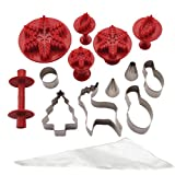 Cake Boss Decorating Tools Winter and Holiday Cake Kit