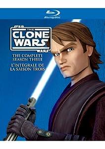 Star Wars: The Clone Wars Complete Season Three (Bilingual) [Blu-ray]