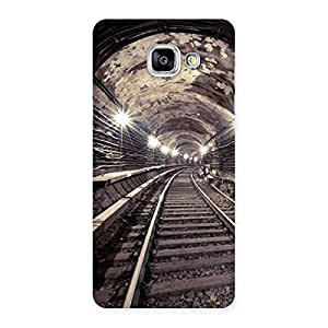 Special Track in Tunnel Back Case Cover for Galaxy A5 2016