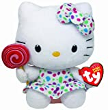 TY Hello Kitty Lollipop Soft Beanie Toy - 6