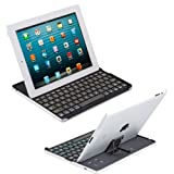 Cooper Cases(TM) Firefly Apple iPad 2/3/4 Backlight Bluetooth Keyboard Dock (7 Variable Back-light Colors, Auto Sleep/Wake, Lightweight & Slim)
