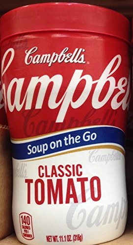 Campbell'S Classic Tomato Soup On The Go 11.1Oz. Cup (Pack Of 12)