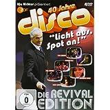 """40 Jahre disco """"Licht aus, Spot an!"""" (Die Revival Edition) [4 DVDs]von """"Ilja Richter"""""""