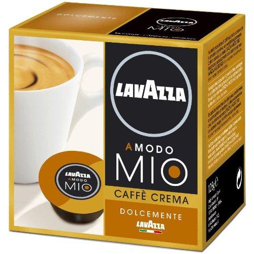 Lavazza A Modo Mio Caffè Crema Lungo Dolcemente, 16 Capsules