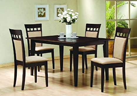 Wooden Dining Room Wood Table Chairs Set Kitchen Chair