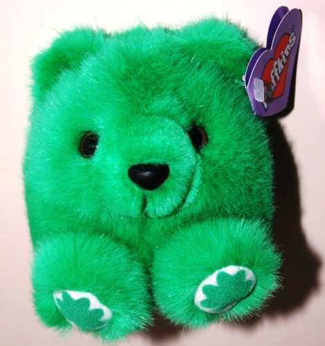 Puffkins, Patrick the Green Saint Patrick Irish Bear (1 Each) - 1
